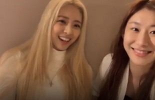 [V Report] ITZY's Yuna, Chaeryeong share how they got into JYP Entertainment