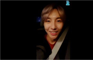 [V Report] NCT Dream's Renjun checks in on fans