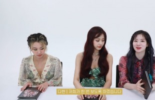 [V Report] Twice members unbox their new album