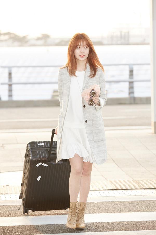 Yoon Eun Hye Heads To Paris To Meet Vanessa Bruno Design Team