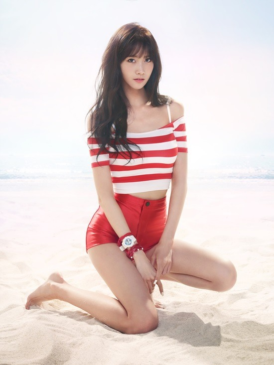Girls Generation Showcases Baby G Watches In Summery Ads