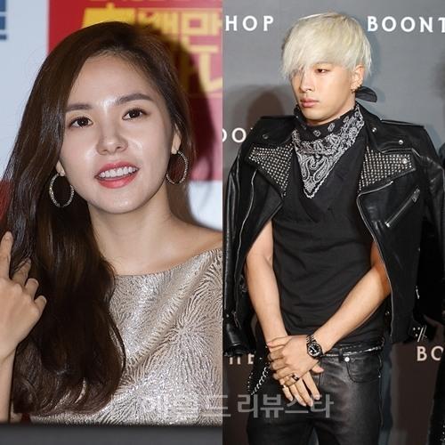 taeyang and hyorin