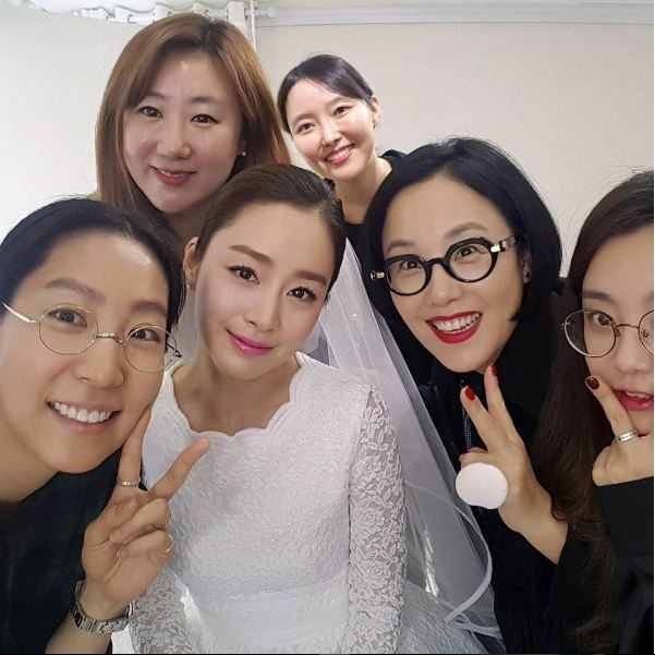 The Fairy Godmother Behind Kim Tae Hee S Bridal Makeup