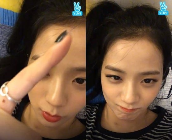 V Report Plus Black Pink S Jisoo Talks About Her Face