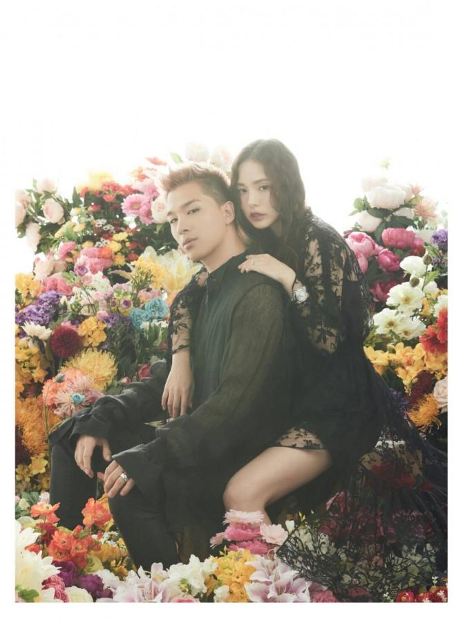 Rin min hyo Newlyweds Taeyang