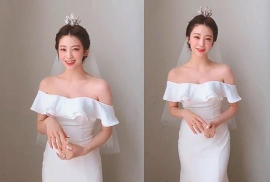 최예슬, 순백의 드레스 자태..♥지오 또 반할 청순+섹시美