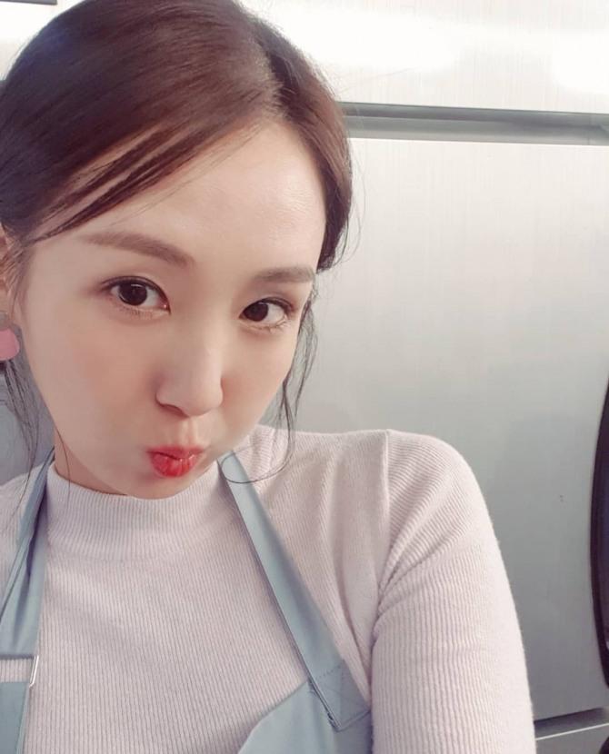 오정연 아나, 카페 사장님의 화려한 미모