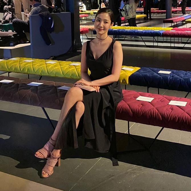 박민영, 밀라노의 여신..섹시+청순 드레스 자태