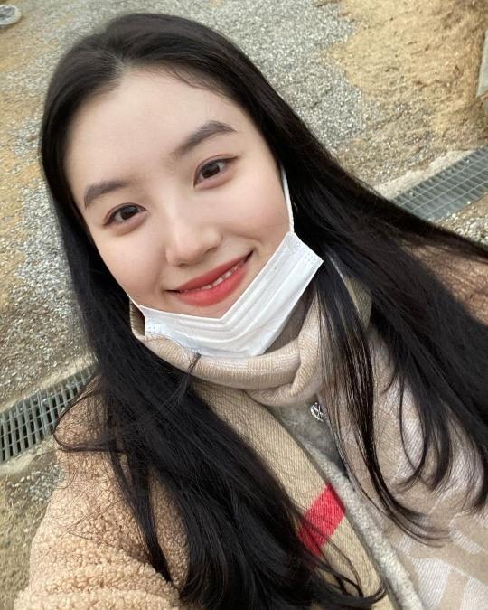 프리스틴 출신 박시연, 내추럴 미모..수수해도 예쁘네