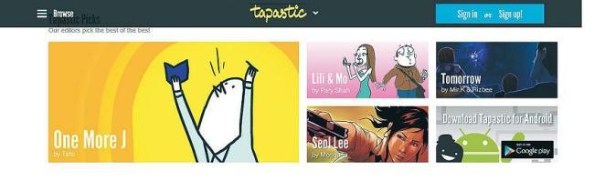 Korean webtoons reach out to world-프린트화면