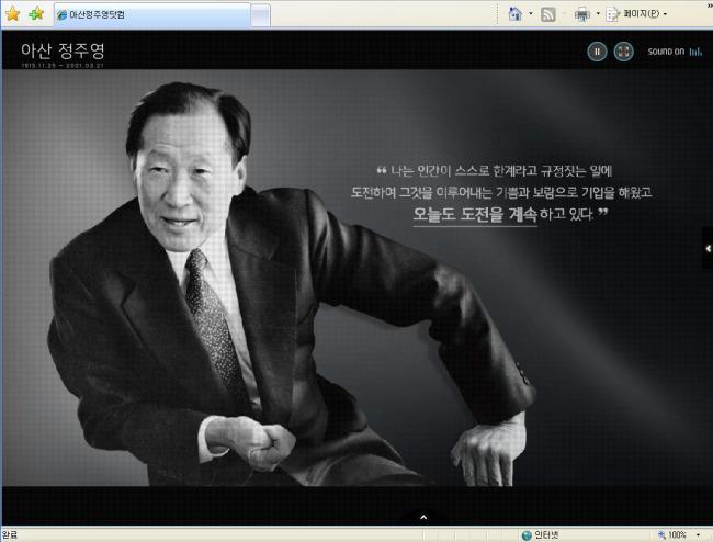chung ju-yung net worth