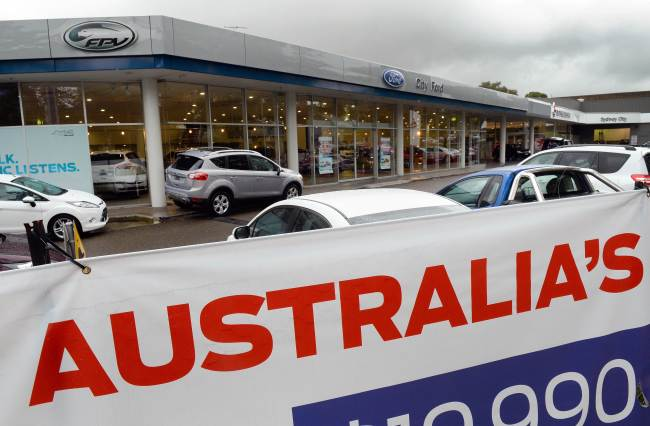 Ford To Halt Car Production In Australia In 2016