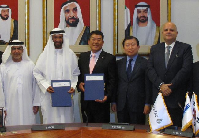 DSME consortium wins $800m oil facility order in UAE