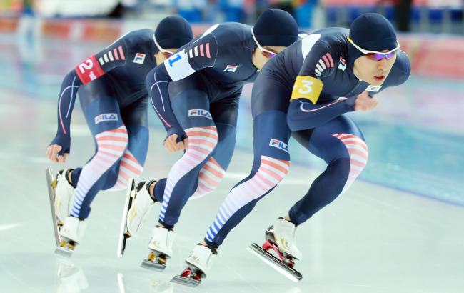 2014 Olympics Team Pursuit