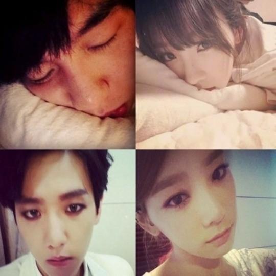 Exo baekhyun girlfriend
