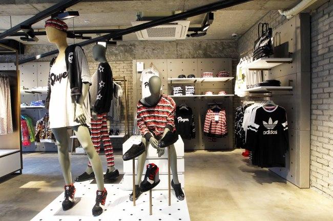 12e6c67cf1a Adidas opens Originals flagship store