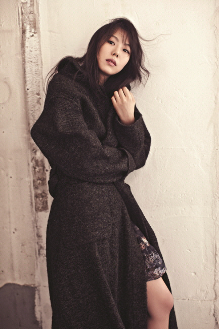 Kim Min-hee poses for Isabel Marant