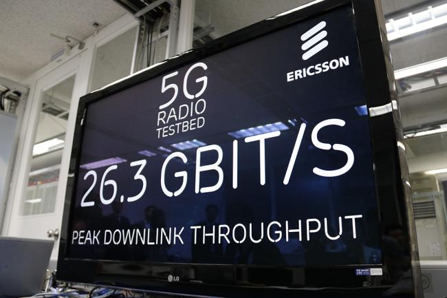 Ericsson-LG demonstrates 5G network tech in Korea