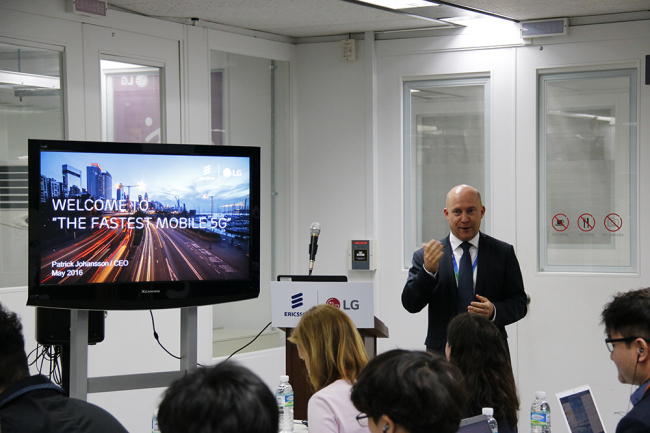 Ericsson-LG demonstrates 5G network tech in Korea