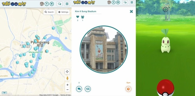 Pokestop found in North Korea, too