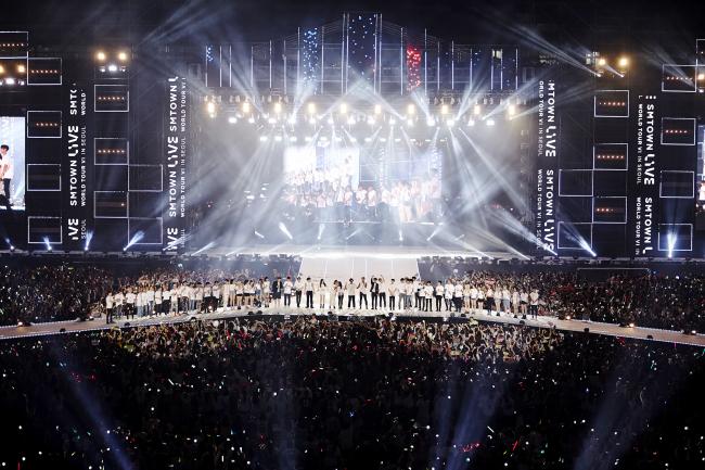 SM Town Live tour kicks off in Seoul