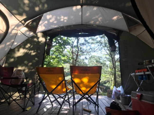 Weekender] Kolon camping park proves popular with outdoor