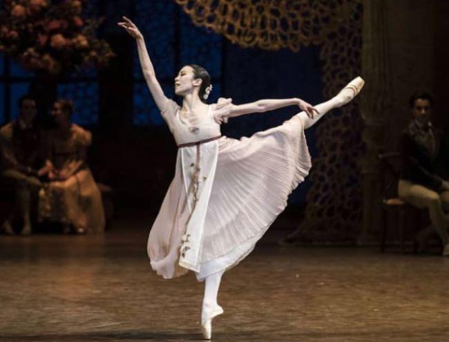 Park Sae eun wins best female dancer at Benois de la Danse