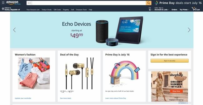 Trending] Amazon starts free shipping service to Korea?