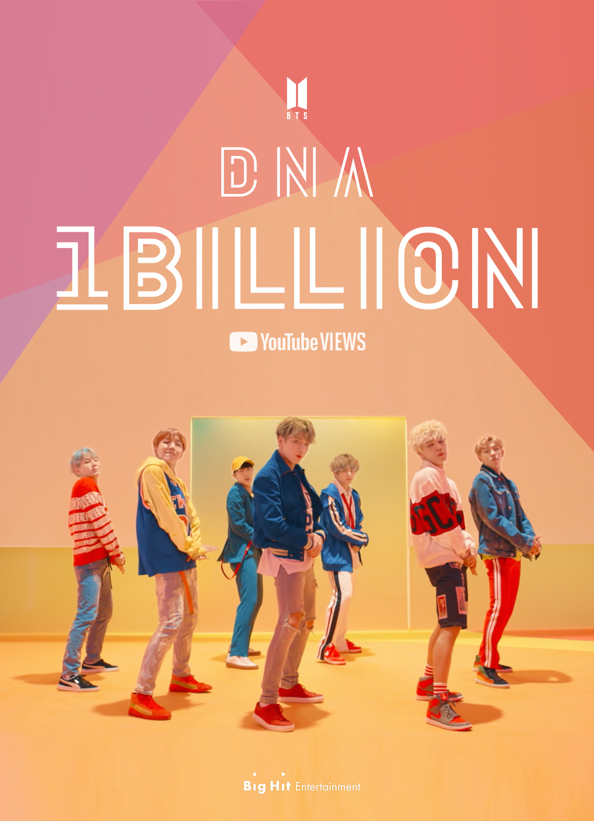 Bts Dna Music Video Tops 1b Youtube Views