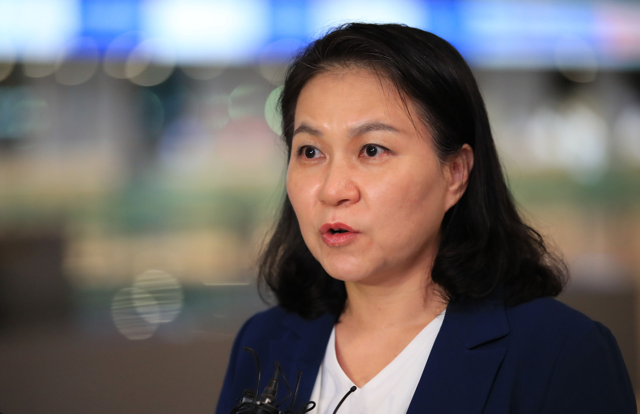 Yoo vies to become WTO's first female boss