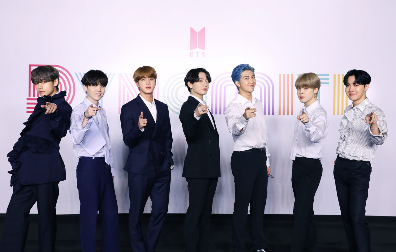 With 'Dynamite,' BTS becomes 1st S. Korean artist to top Billboard Hot 100  - The Korea Herald
