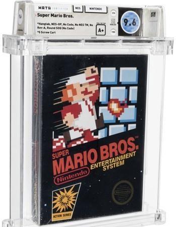 """""""로또가 된 1986 년 닌텐도 '슈퍼 마리오'게임 카트리지… 7 억 원""""-헤럴드 이코노미"""
