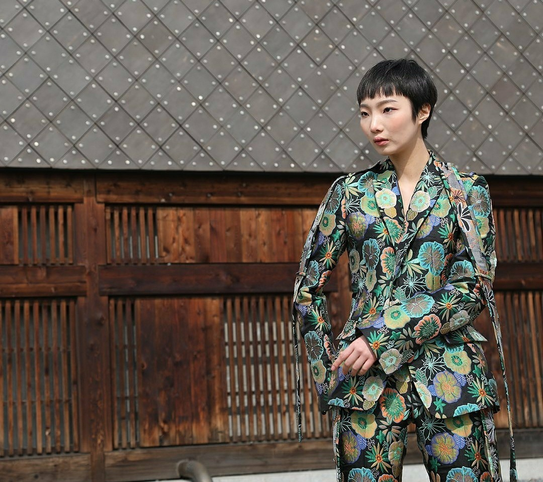 C-ZANN E shows its new fall-winter collection at the National Museum of Korea. (Seoul Fashion Week)