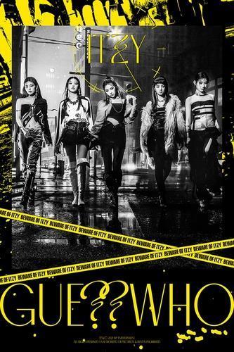Foto ini, disediakan oleh JYP Entertainment, menunjukkan teaser untuk set musik baru K-pop ITZY yang akan dirilis pada 30 April 2021. (JYP Entertainment)