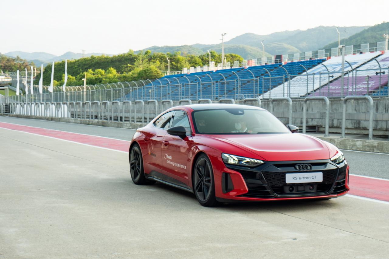 Audi RS e-tron GT (Audi Korea)