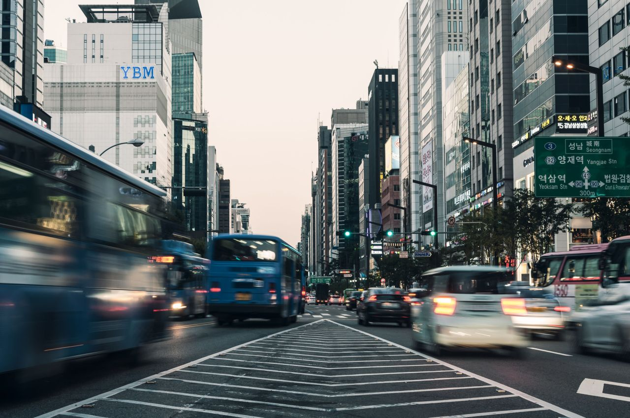 The main street in the posh Gangnam area of Seoul is shown in this file photo. (123rf)