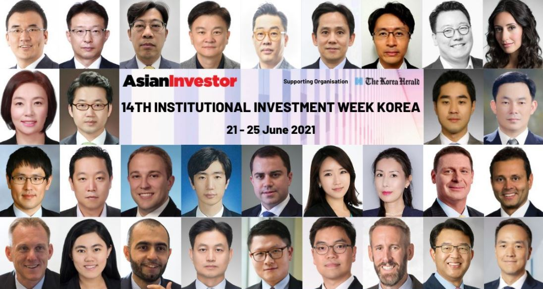 A promotional image from the 14th Institutional Investor Week Korea (AsianInvestor)
