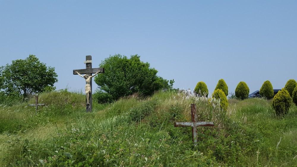 천주교 순교자 3명의 유해가 발굴된 추나미신사 일대(경주교구)