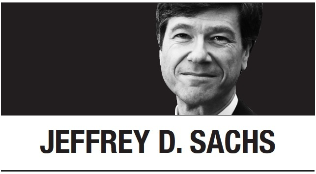 [Jeffrey D. Sachs] The G-20 and the means to climate safety