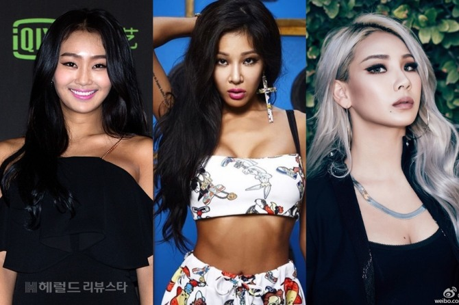 Singers Who Look Totally Different Without Make Up Cl Jessi Hyorin