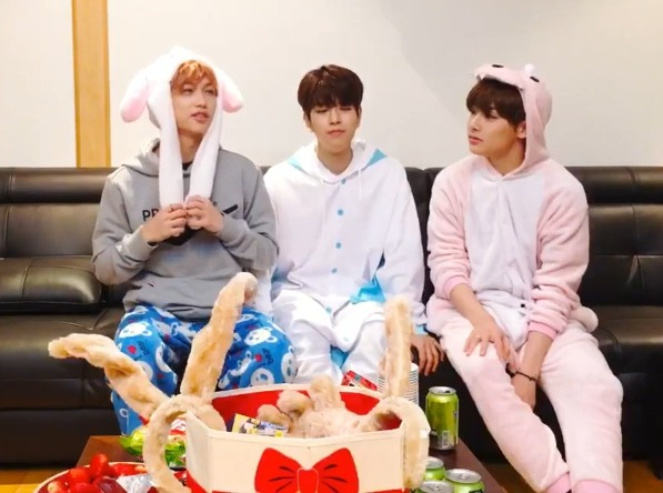 V Report] Stray Kids buy gaming console for Christmas