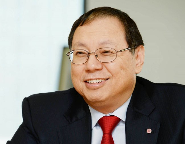 LG Electronics names appliance chief as CEO