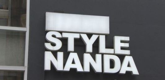 3bb7fc5342fc2 This undated photo shows Stylenanda`s sign at its flagship store in Seoul.  (Yonhap)