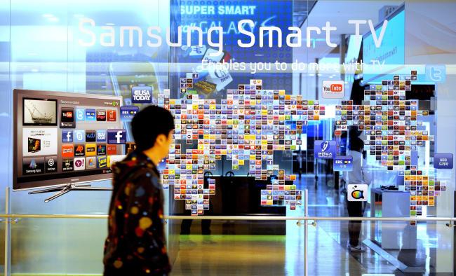 Samsung, LG take up half of global TV market in H1