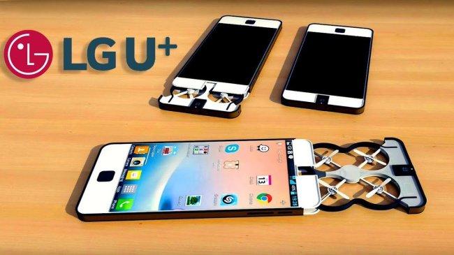 LG U+ Flying Smart phone  