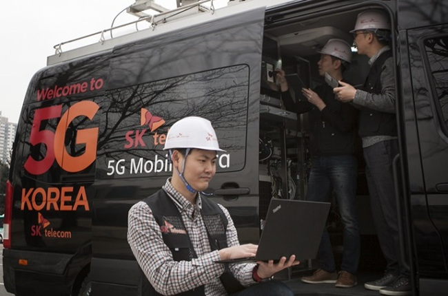 S  Korea mobile carriers admit shaky 5G network in early stage