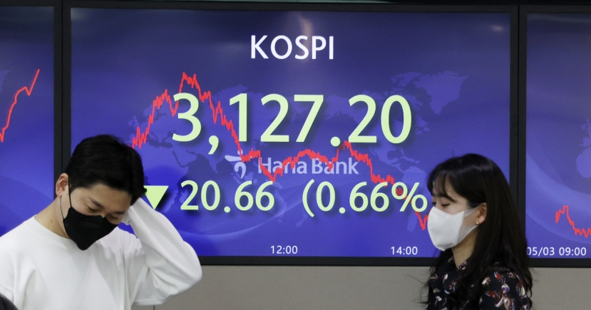 Seoul stocks down for 5th day on return of short selling