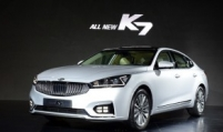 Kia unveils renderings of face-lifted K7 sedan