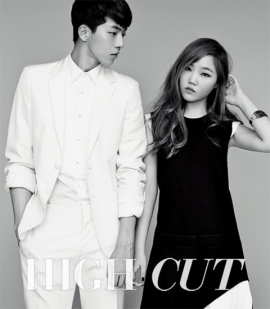Akdong Musician pose with 'real models' in High Cut editorial