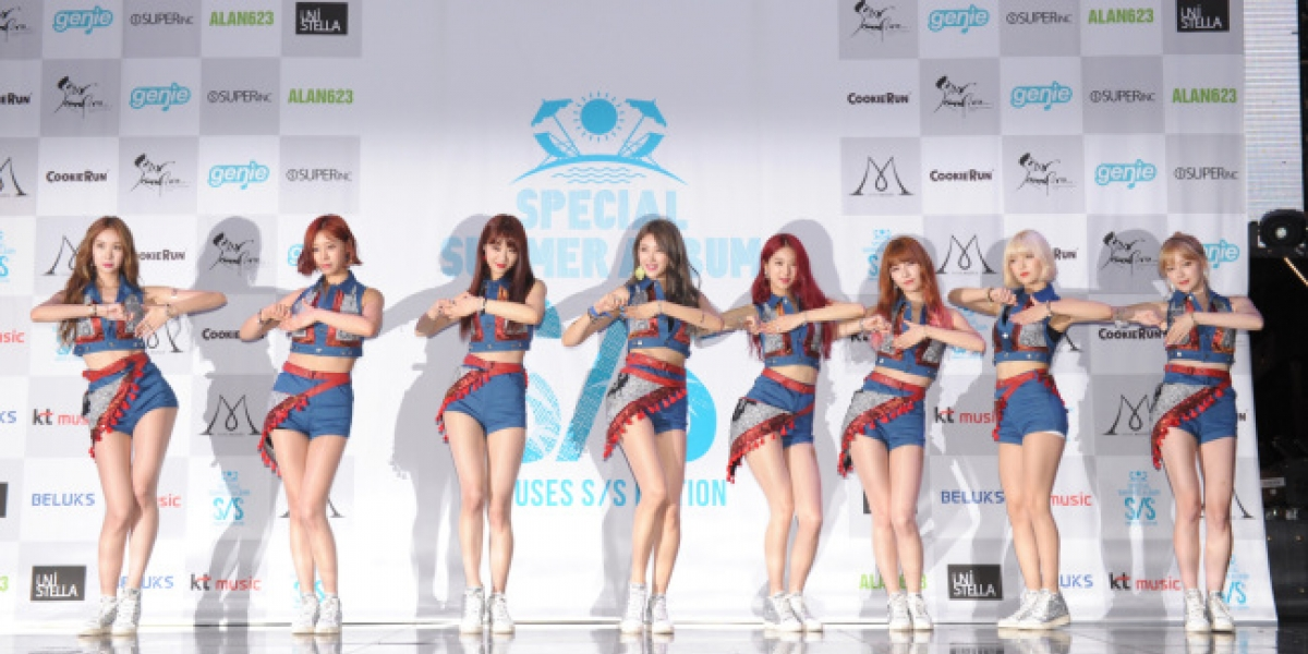 Nine Muses jumps into heated summer girl group scene with